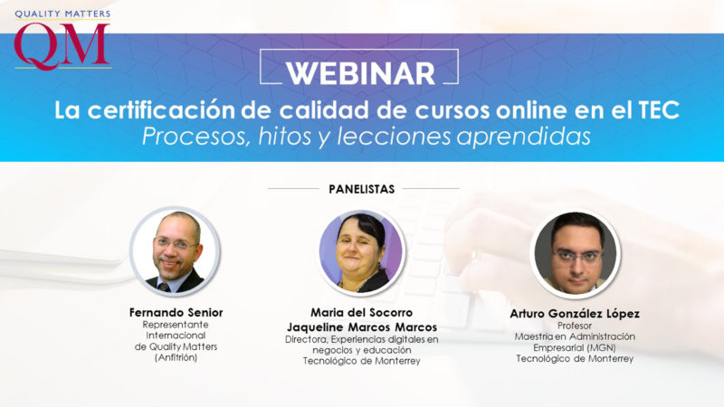 Fernando Senior Webinar Tec de Monterrey