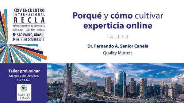 Porqué y cómo desarrollar experticia online