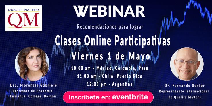 Webinar: Clases online participativas